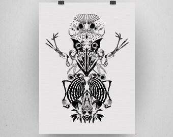 Dead birds are alive - A3 Print