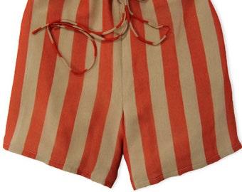 silk chiffon shorts