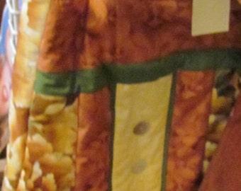 Autumn fabric bag