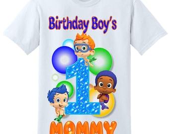 Bubble Guppies Birthday Dad Shirt