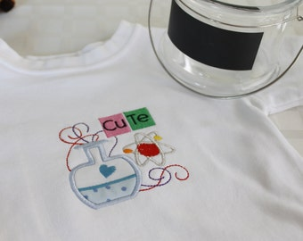 Chemistry Cutie Embroidered Onesie or Shirt