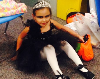 Black swan costume only tutu and tank top