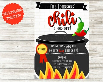 Chili Cook-Off Invitation!
