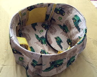 John Deere Tractor High Chair Cover