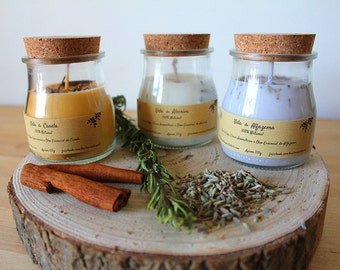 Scented Candles - 100% Natural