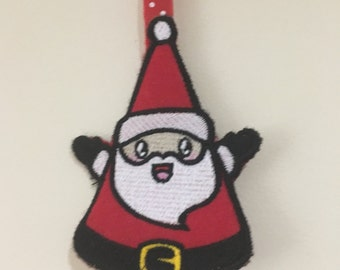 Father Christmas decoration / Santa Claus christmas tree decoration / Santa Claus / Christmas decoration / Christmas in July / CIL