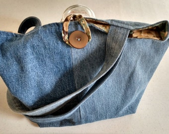 Re-purposed Denim Bag