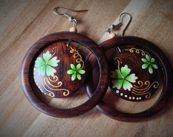 Bali Floral Earrings