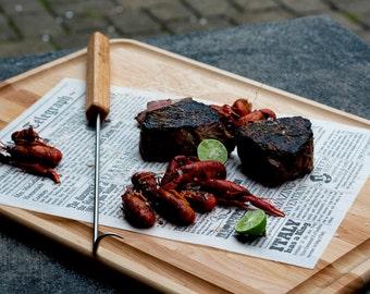 i-Hook - Meat Turner - Get Hooked on Grilling