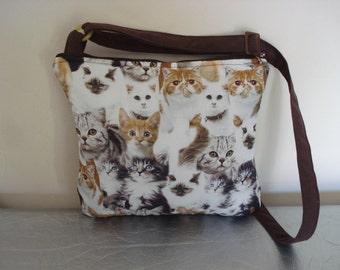 shoulder bag cats / cat
