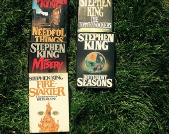 Steven King Five Novels Misery,Fire-Starter,Different Seasons,The Tommyknockers,and Needful Things
