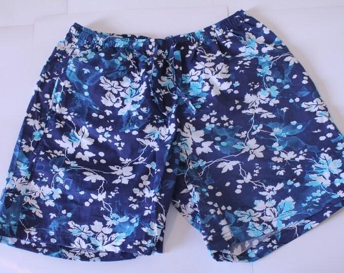 Khushi Shorts - Blue Floral