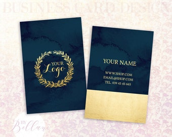 Business Card Design with Customization