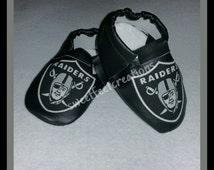 Oakland Raiders moccasins