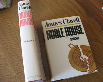 Noble House by JamesClavell Vol. 1 and 2