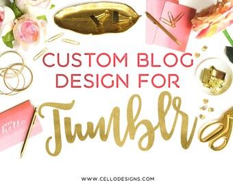 Custom Blog Design for Tumblr - Custom Design for Tumblr - Tumblr Theme Custom Design
