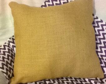 Tan Burlap Pillow