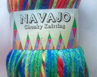 Teddy Navajo Chunky wool