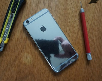Mirror vinyl iPhone 6 / iPhone 5 / 5s / wrap skin - iphone skins - covers for iphone - just the back