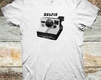 Selfie Designer T Shirt Polaroid Camera Men Women S M L XL 2XL 3XL 4XL 5XL