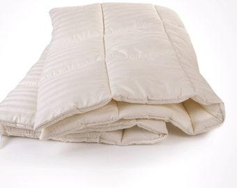 Wool Comforter Premium Silk