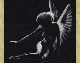 Cross Stitch Kit Shadow of angel