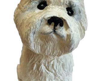 West Highland Terrier Dog Candle