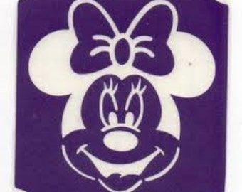 mini mouse stencil disney