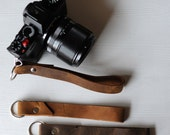 leather camera wrist strap-strap for camera-wristwatches