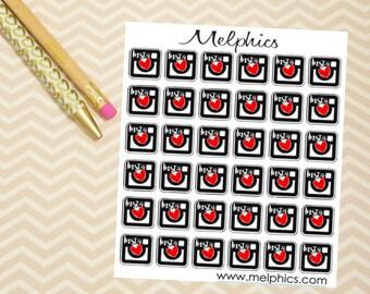 Insta Love Sticker Set