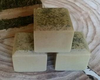 Lavender Sage Green Tea Cube Soap