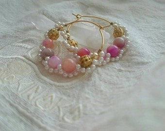 【Candy Quartz of the earrings】