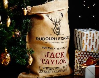 The Marlowe Personalised Christmas Sack
