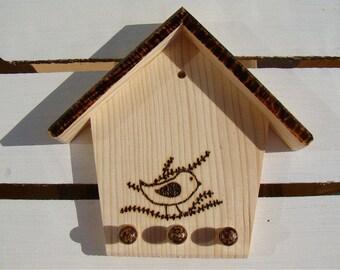 made to order, wooden key hanger, wooden key organizer, wooden key holder, wall key holder, wall key hanger, rustic key organizer