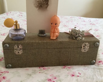 Vintage Suitcase Shelf