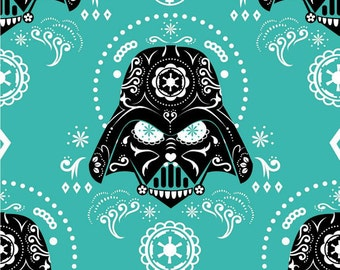 Darth Vader Fabric / Star Wars Fabric / Villain/ Rare/ Out of Production/ By the yard