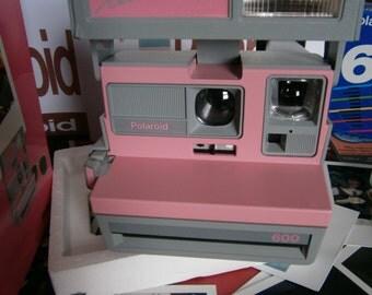 NEW POLAROID Pink cool cam mega rare as new