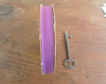 Purple Vintage Seam Binding Vintage Sewing Tape
