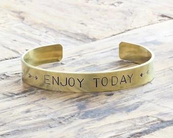 Enjoy Today Bracelet