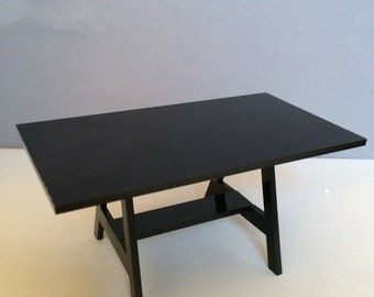 1/12 scale dollhouse desks for plexiglas