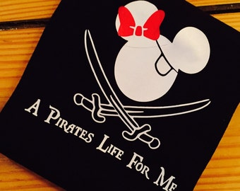 Toddler Disney pirate Tshirt