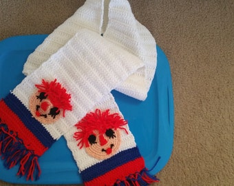 Raggedy Ann and Andy Scarf (Andy)