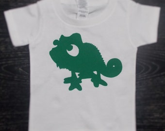 Disney Inspired Pascal Shirt for Adults & Children / Matching Tangled Shirt / Pascal Shirt for Boys / Tangled Pascal Shirt