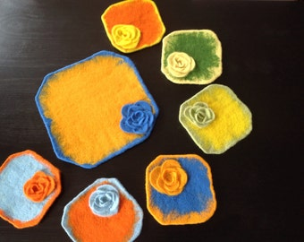 Felted cup bases kit