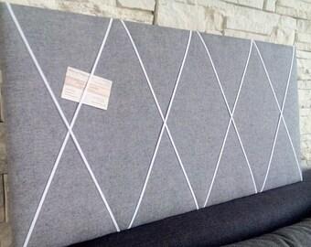 Memo Board Bulletin Board Shabby Chic vintage fabric Baroque