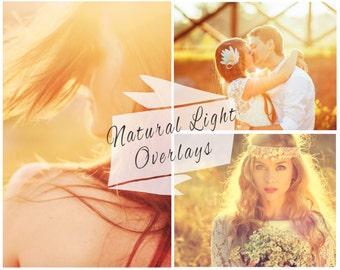 BOGOF, 50 Natural Sun Light Photoshop Overlays, Sunlight Overlays, Sun Flare, Wedding Overlays, Digital Backdrop, Instant Download