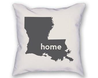Louisiana Home Pillow
