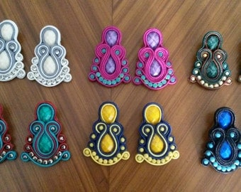 Tendrils Soutache colors