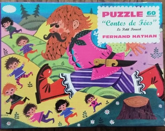 "vintage ""thumb"" Fernand Nathan 60's puzzle"