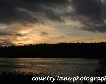 Sunset at Tittesworth Reservoir, Meerbrook